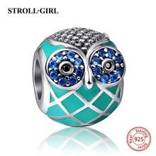 Owl Chick Cat Mix Charm Beads Fits Authentic Pandora Bracelet Silver 925 Charms