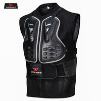 WOSAWE Motorcycle Armor Vest Motorcycle Protection Motorbike Chest Back Protector Armor Motocross Rider Vest Protective Gear
