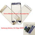 OEM Digitizer Touch Glass Lens Replacement For Samsung GALAXY S6 Edge G9250 Gold/Blue/White