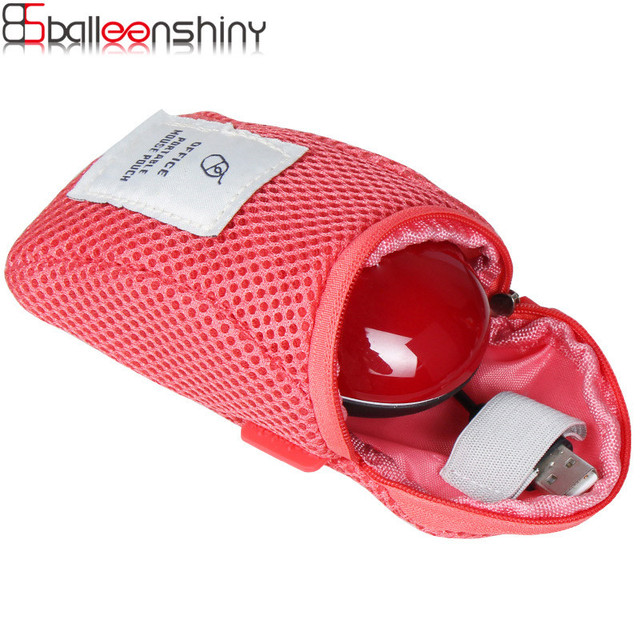 BalleenShiny Mouse Storage Bag Travel Portable Shockproof Digital Protective Case Pouch Box Anti-shock