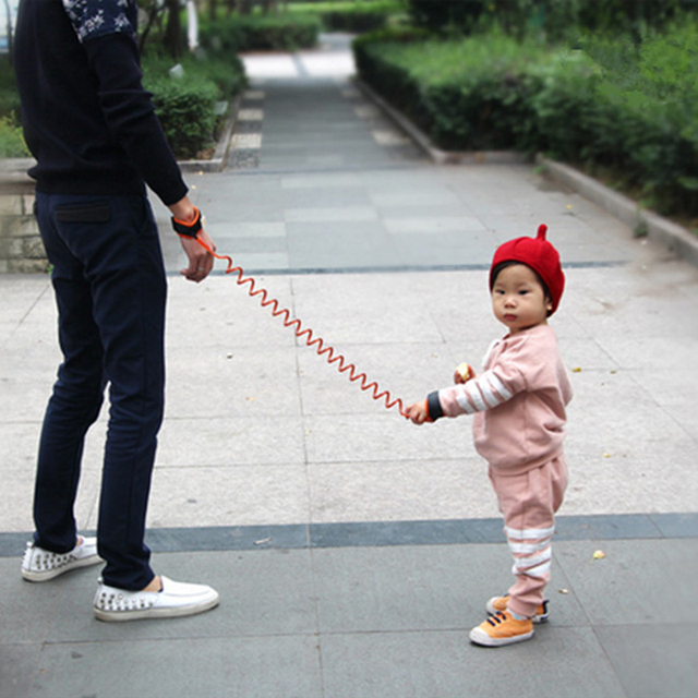 Anti Lost Wrist Link Toddler Leash Safety Harness for Baby Strap Rope Outdoor Walking Hand Belt Band Anti-lost Wristband Kids 2