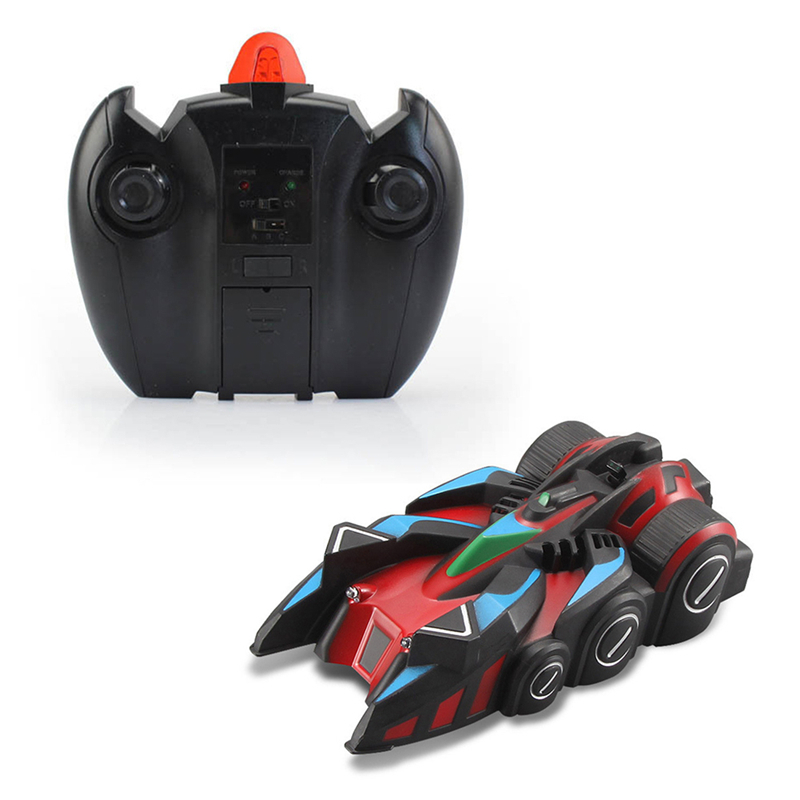 New RC Wall Climbing Car Dual Mode Ground Wall Remote Control Toy Car Mini Gravity Stunt Car Kids Electric Toy