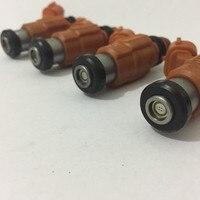 Наборы из 4 шт. оранжевого потока соответствует мотоцикла 115 л.с. топливный инжектор Топливная форсунка CDH210 INP771 для Yamaha подвесной