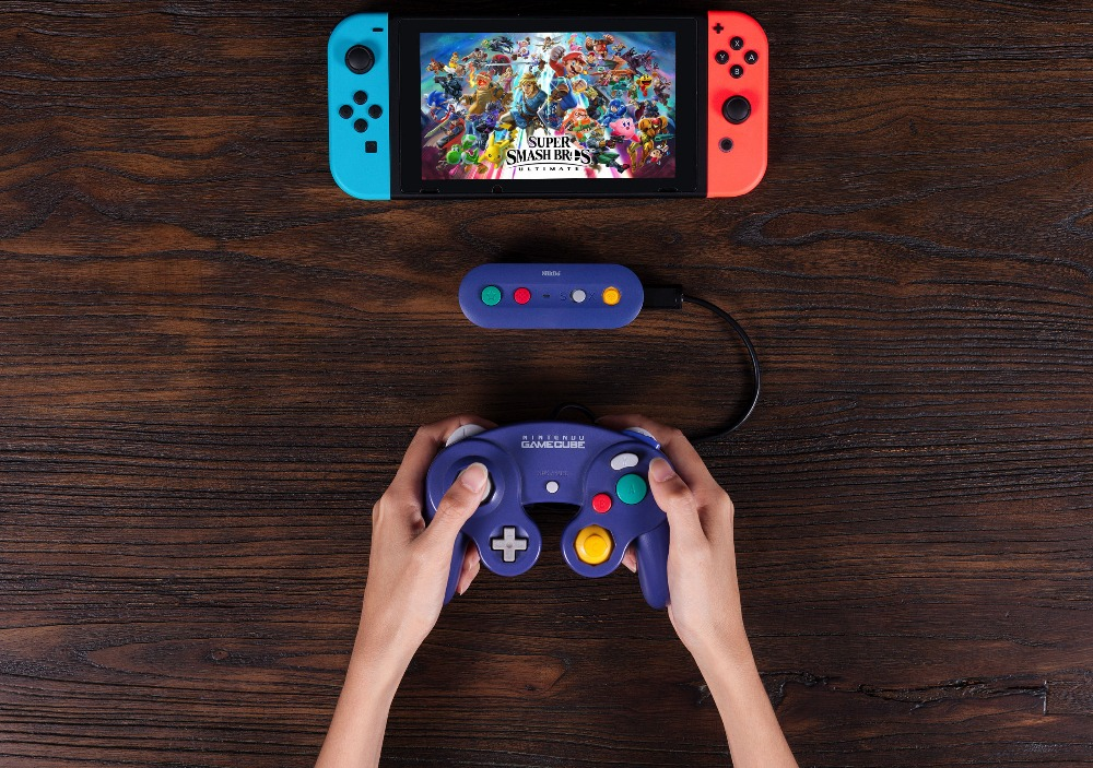 8bitDo GBros Wireless Adapter for NES SNES SF-C Classic Edition Wii Classic for Nintendo Switch Gamecube 12