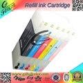 Бесплатная доставка совместимость T7281-6 с чипом для SureLab D700 принтера многоразового картриджа