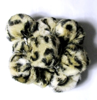 Free Shipping leopard print fur ball for keychain or decoration gift