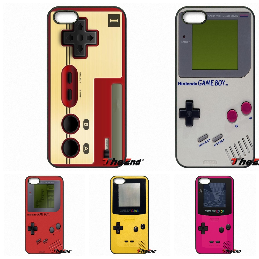 buy online e92f5 48aca For Gameboy Game Boy GB Original Cell Phone Case For iPhone X 4 4S 5 5C SE  6 6S 7 8 Plus Galaxy J5 J3 A5 A3 2016 S5 S7 S6 Edge