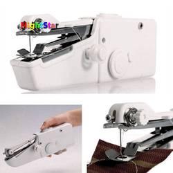 Mini máquina de coser portátil inteligente eléctrica a medida de mano