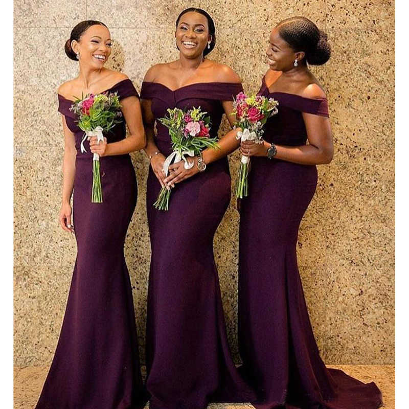 3831ba4587d0b 2019 South African Bridesmaid Dresses Summer Country Garden Church Formal  Wedding Party Guest Maid of Honor