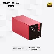 SMSL M300 аудио DAC AK4497 декодер HIFI родный DSD512 PCM768kHz USB оптический коаксиальный вход Сбалансированный линейный выход черный синий красный