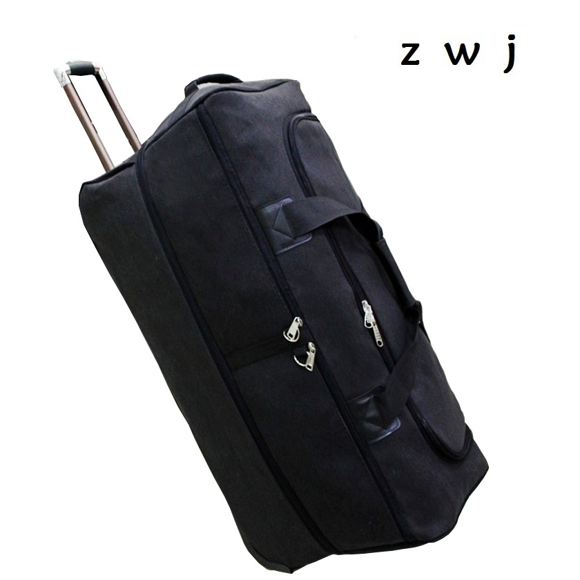 Large Capacity 34 inch Travel Bag Hand Rolling Luggage  Men Business Trolley  Suitcases WheelLarge Capacity 34 inch Travel Bag Hand Rolling Luggage  Men Business Trolley  Suitcases Wheel