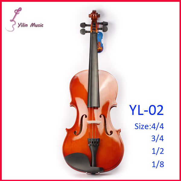 Basswood Polywood Violin Free Shipping Violin with Size 1/4 3/4 4/4 1/2 1/8 Violin Sent with Bow Rosin and Case 4 4 electric acoustic violin basswood fiddle with violin case cover bow rosin for musical stringed instrument lovers beginners