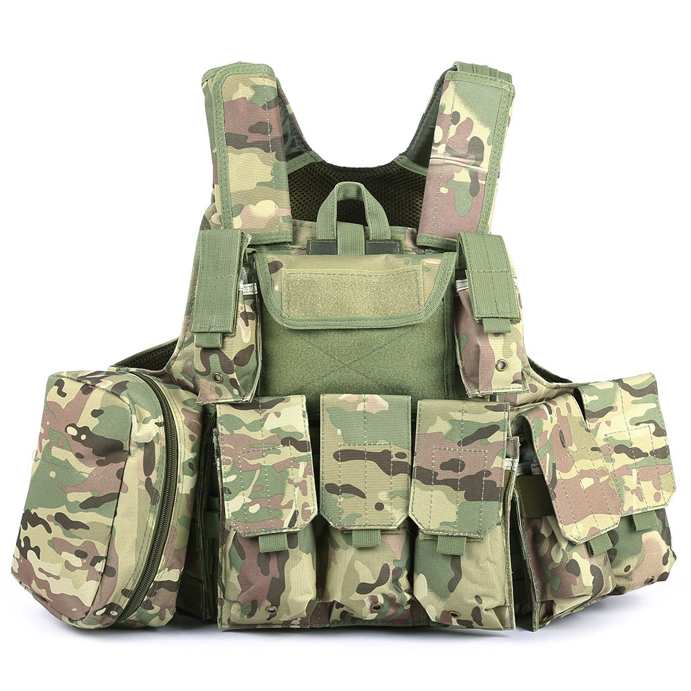 Outlife Phantom tactique militaire grève Combat Airsoft Molle balle assaut plaque transporteur gilet léger confortable - 2