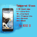 Nexus 5X Tempered Glass For LG Nexus 5X (LG 5X) Anti-burst screen Tempered glass protector guard 2.5D edge With Retail Package