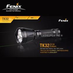 Weit-erreichen Fenix TK32 1000 Lumen Tri-farbe Quelle Jagd Taschenlampe mit 422-meter Strahl Abstand