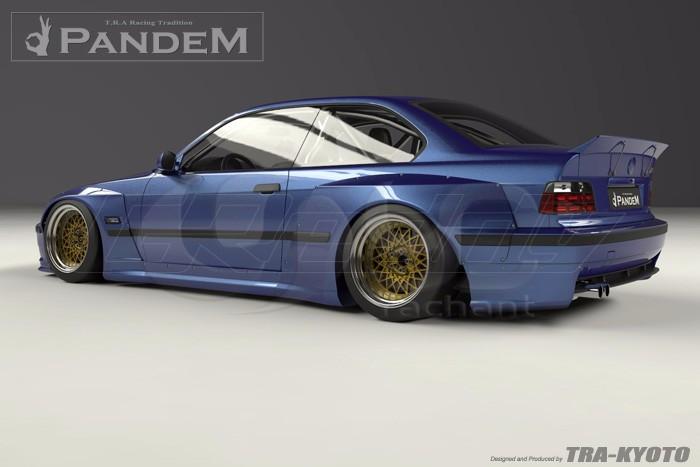 1992-1999 BMW E36 M3 Coupe GReddy Pandem Style Body Kit FRP (9)