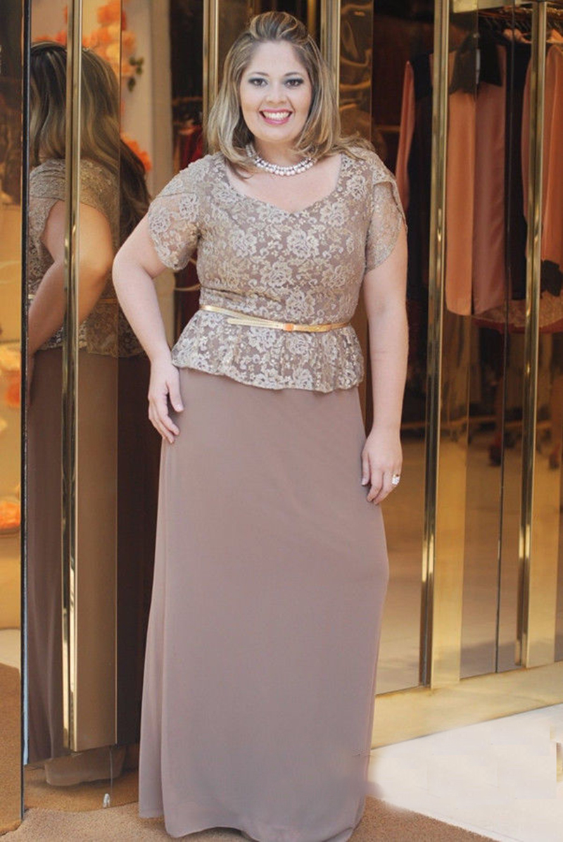 Short Brown Plus Size Evening Dresses | Dress images