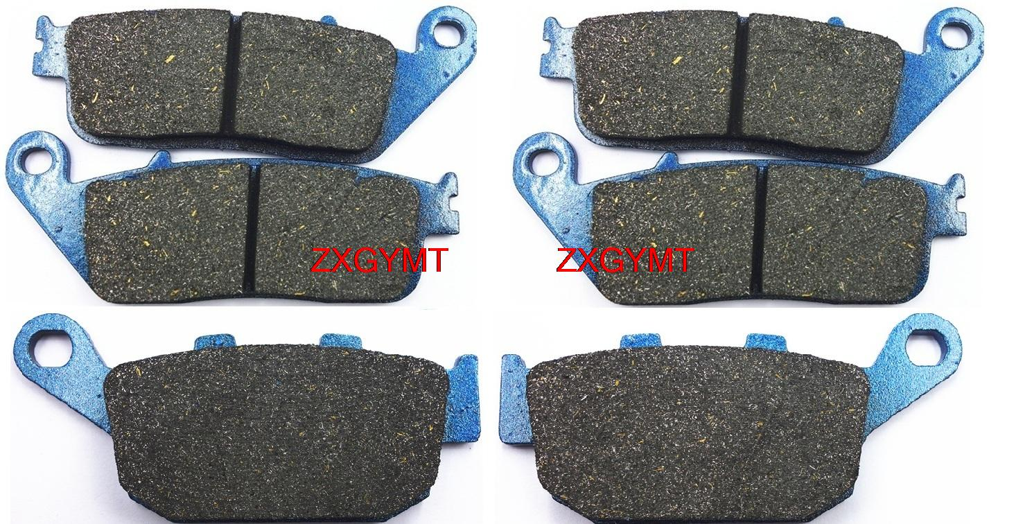 Motorcycle Semi-met Disc Brake Pads Set for TRIUMPH 800 Tiger XC 2011 - 2014 for triumph tiger 800 tiger 1050 tiger explorer 1200 easy pull clutch cable system