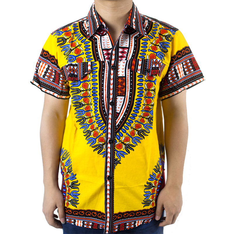 2016traditional african clothing for mens shirt dress mens for Best mens dress shirts 2016