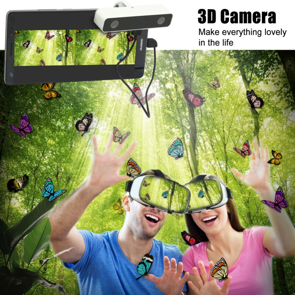 Virtual Reality Smartphone 3D Glasses VR Headset Box Set with Mini 3D effect VR virtual reality