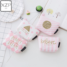 XZP Cute Pink Coin Purses Holder Fashion Girl Kids Mini Gift Change Wallets Money Bag Coin Bag Children Women Zipper Pouch Gift стоимость