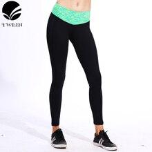 Спортивные брюки с молнией карман леггинсы фитнес Высокая талия эластичные женские леггинсы брюки тренировки Йога тренажерный зал работает бренд леггинсы