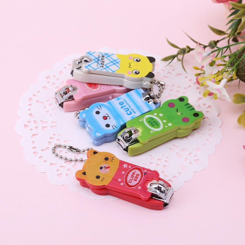 2018 Baby Safety Nail Clippers Scissors Children Cartoon Cutter Infant Fingers Care Jun11_17 Baby Care Nail Care