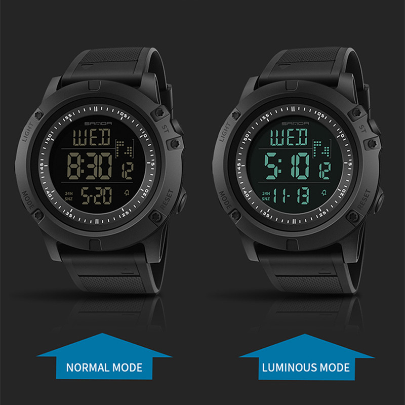 1f5b9da4db1 SANDA Military Countdown Sport Watch Men LED Digital Watch Waterproof  Electronic Men Watches relogio masculino-in Digital Watches from Watches on  ...