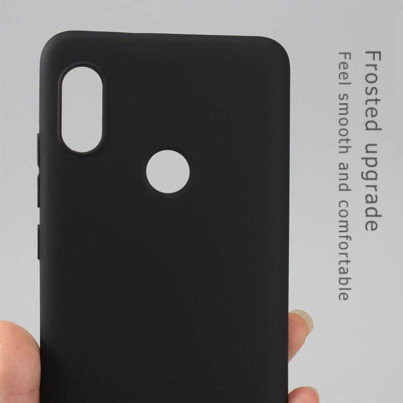 Матовый чехол из ТПУ чехол для Xiao mi Red mi Note 5 Pro 5 Plus 5A Prime 4X4 4A mi A1 mi 5X Черный Мягкий силиконовый чехол для телефона s Conque
