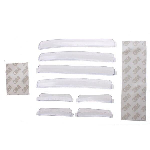 8x Car Door Edge Guards Trim Molding Protection Strip Scratch Protector Rubber