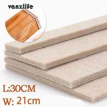 Vanzlife 5 мм толщина войлочный коврик высококлассная мебель коврик напольное покрытие мебель Защитные колодки османов, одна штука