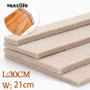 Image 1 - Vanzlife 5 мм толщина войлочная Подушка высококлассные мебельные коврики для напольных покрытий защитные подушечки otomans, одна штука