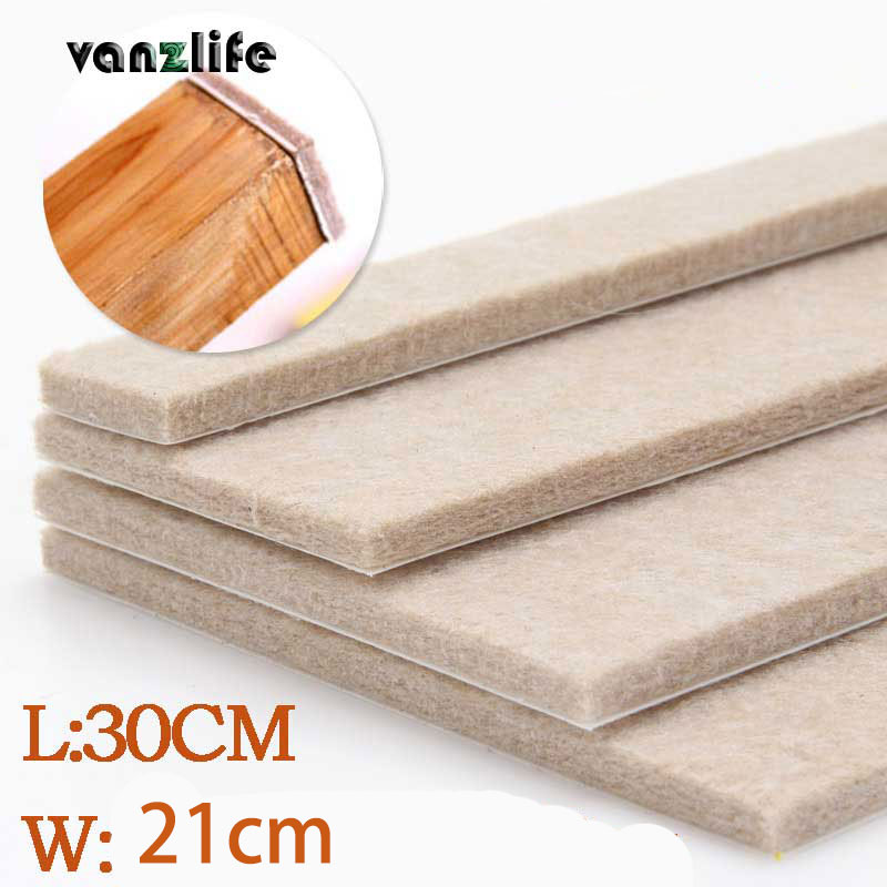 vanzlife 5mm thickness felt pad upscale furniture mat flooring furniture protection pads ottomans, one pieces