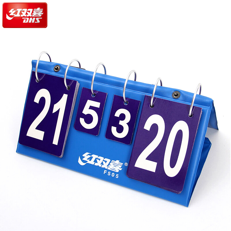 DHS Table Tennis Accessories Standard Scoreboard Portable Light For Games Ping Pong Game Tenis De Mesa Scorecard
