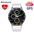"KW88 Smart Watch Android 5.1 OS 1.39"" AMOLED Screen 3G Nano SIM WCDMA WiFi Smart Phone Watch MTK6580 GPS HRM Fitness Tracker"