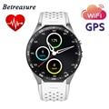 "KW88 Smart Watch Android OS 5.1 1.39 ""AMOLED Экран 3 Г Nano SIM WCDMA Wi-Fi Смарт-Телефон-Часы MTK6580 GPS HRM Фитнес-Трекер"