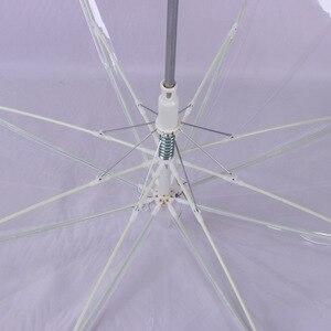 Image 3 - Luce a LED trasparente Unbrella per regalo ambientale ombrelli luminosi brillanti oggetti di scena per attività per feste ombrelli a manico lungo