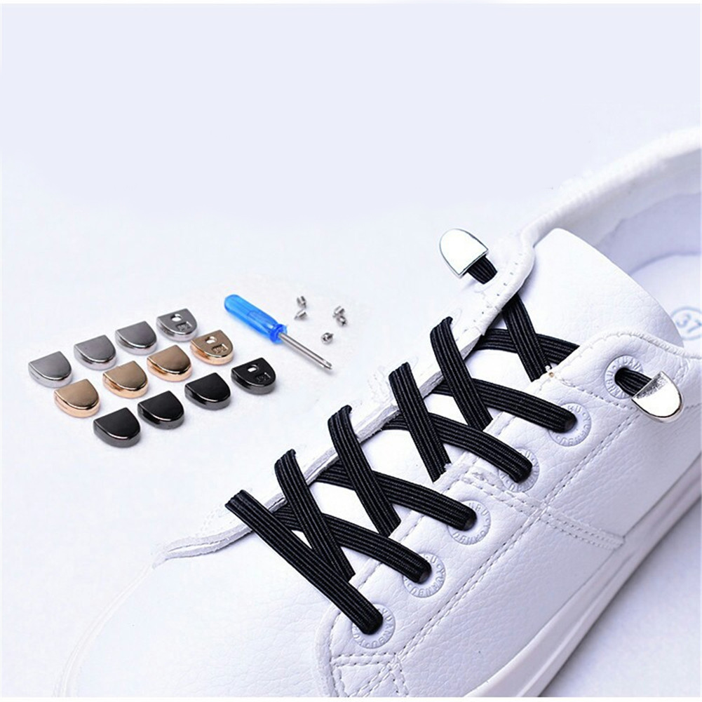 YJSFG HOUSE Funny Quick Shoelace 13 Colors No Tie Laces quick and easy   Lazy Shoelaces men Women shoes Accessories 1 Pair   YJSFG HOUSE Funny Quick Shoelace 13 Colors No Tie Laces quick and easy   Lazy Shoelaces men Women shoes Accessories 1 Pair