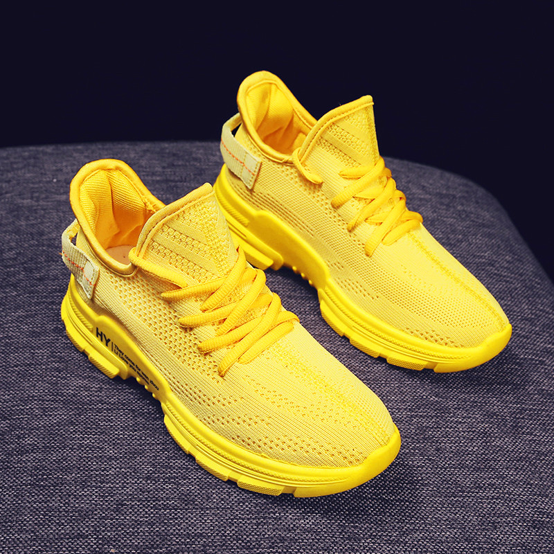 Simple Casual Ladies Sports Style Women's Breathable Wicking Casual Shoes Women's Vulcanized Shoes Rubber Sole Wear-resistant