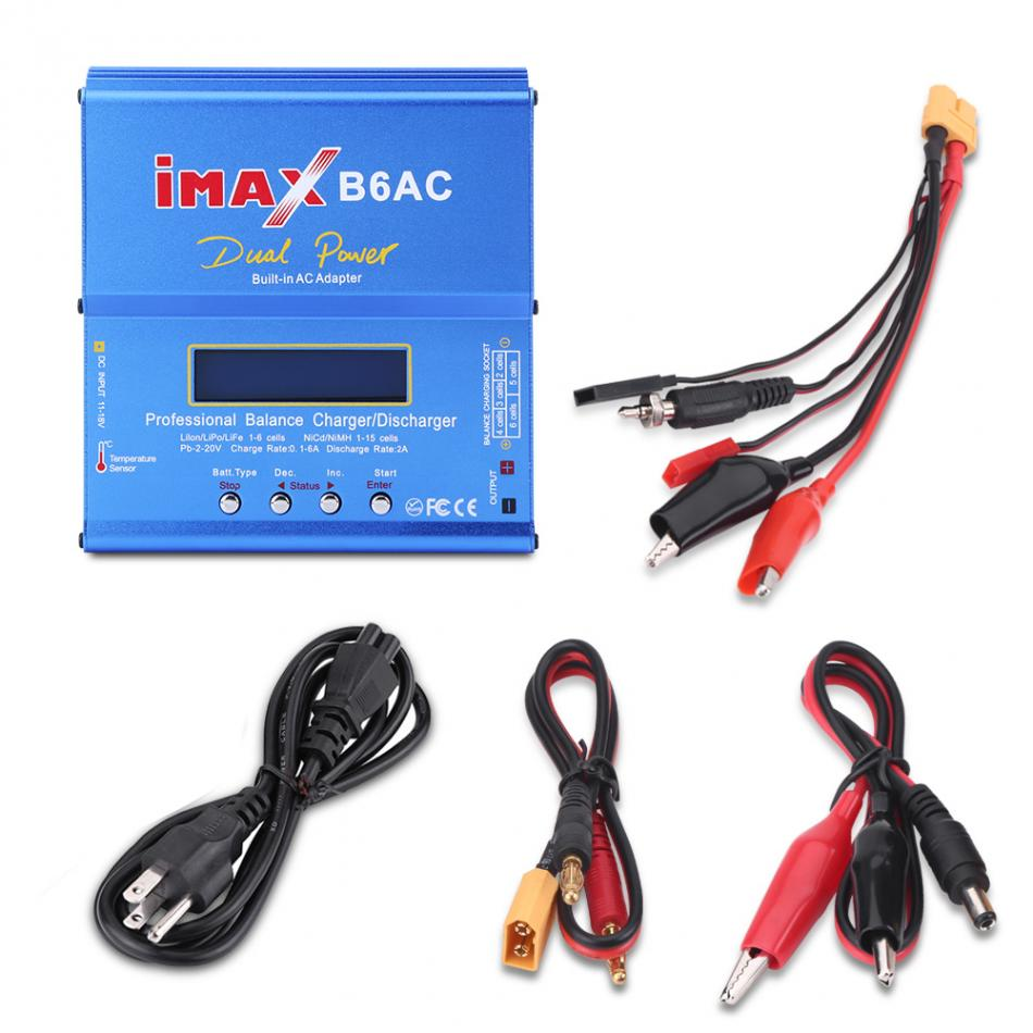 3Types Multifucntional Balance Charger Discharger RC font b Battery b font 80W AC 100 240V Balance