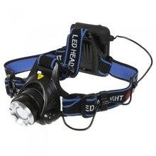 1PCS XM L XML T6 2000 LM LED Headlamp Headlight Flashlight Head Lamp Light AA Battery