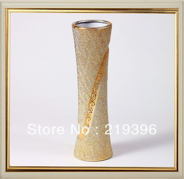 European pastoral the gilded ceramic modern fashion personality minimalist home Decoration