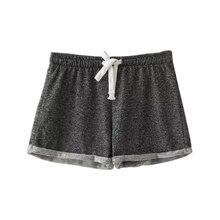 Summer Women Elastic Waist Tunic Drawstring Elegant Beach Pocket Cuffs Casual Brand Shorts