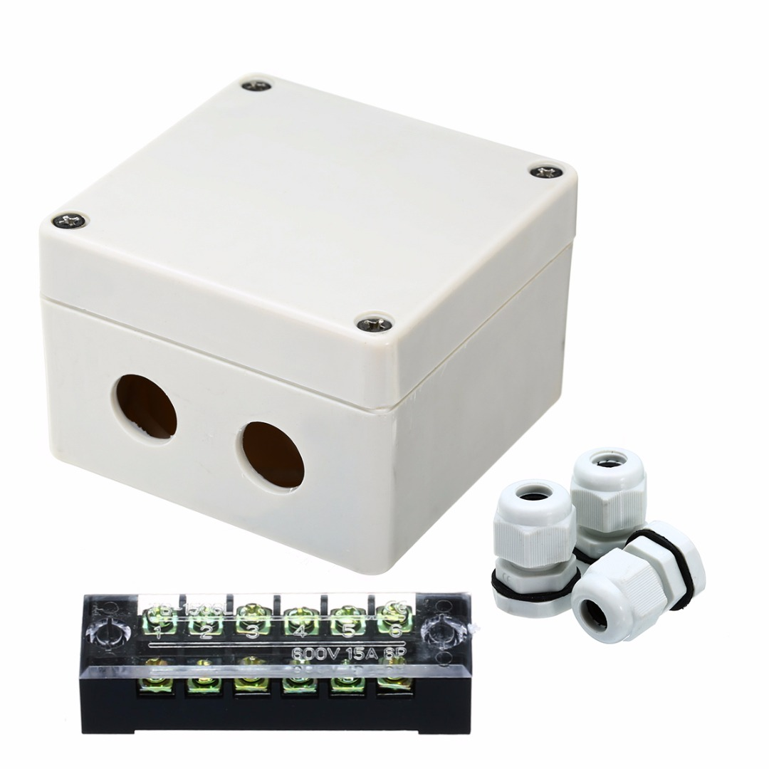 Plastic Electrical Junction Box Connector Great Installation Of Wiring Code 1pc Waterproof 83 81 56mm Cable Distribution Rh Aliexpress Com