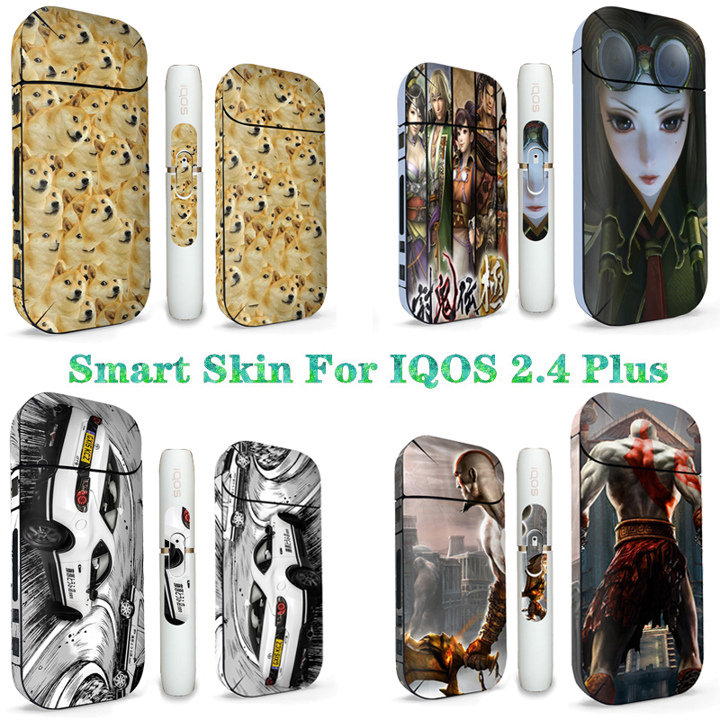 Mobile Phone Stickers Bright Premium Iqos 2.4 Plus Waterproof Sticker Skin Protection Sticker Japanese Classic Popular Manga Sticker A Plastic Case Is Compartmentalized For Safe Storage Mobile Phone Accessories