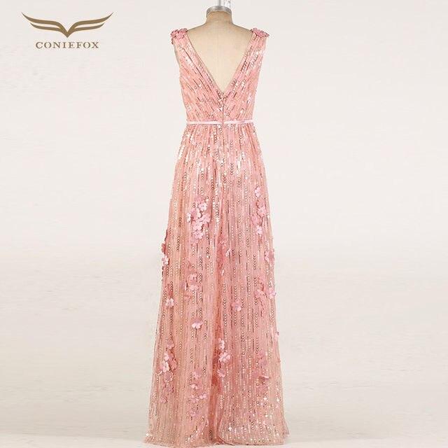 Online Shop Coniefox 30856 Vestidos De Noche Plus Size Sequined