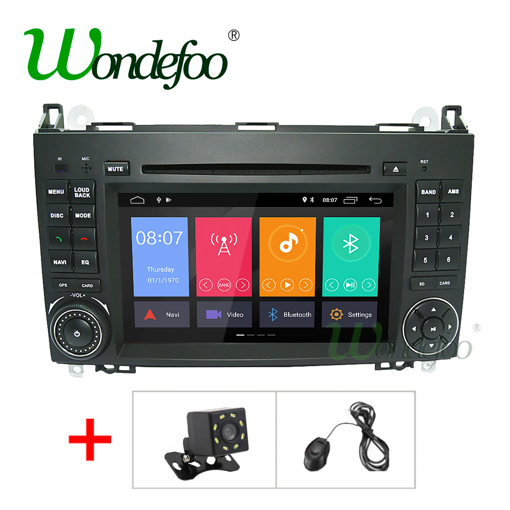 IPS 2G Android 8 1 Car DVD GPS For Mercedes Benz Sprinter B200 B class W245
