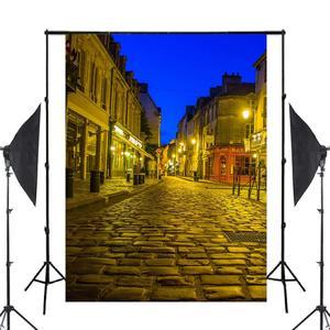 Image 2 - Fondo de fotografía de la calle de París de 5x7 pies