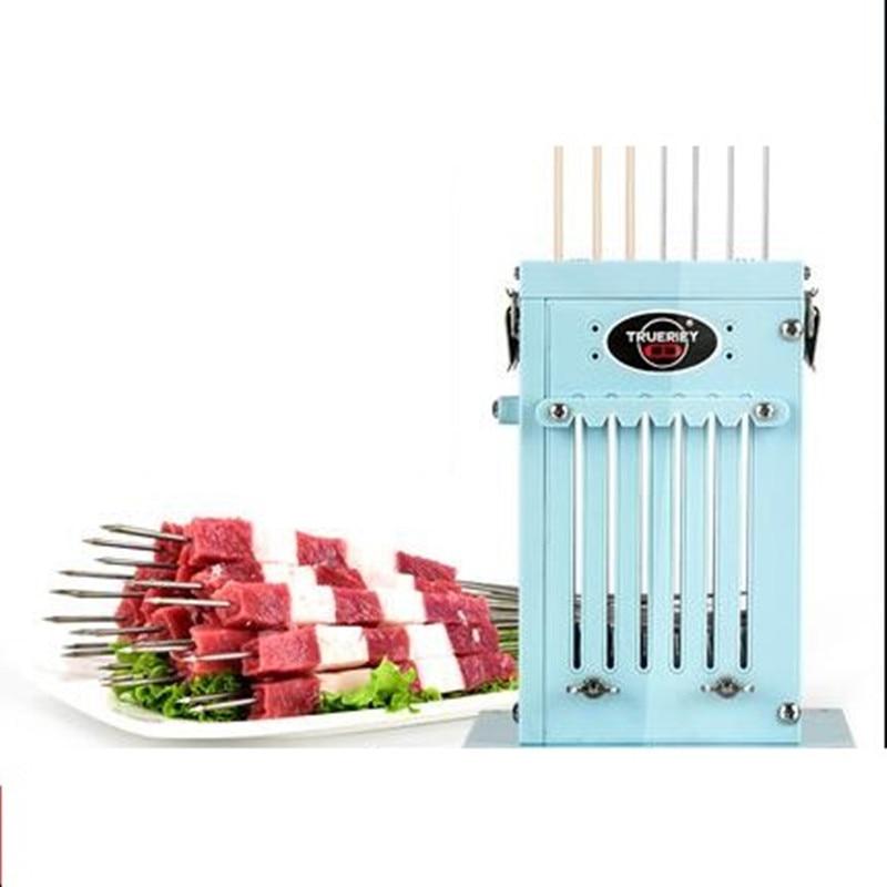 Food Grade Meat Skewer Machine Lamb Skewers Wearing Meat Maker Barbecue Skewer Machine Tool High Quality 49 1kg sucralose food grade tgs 99%