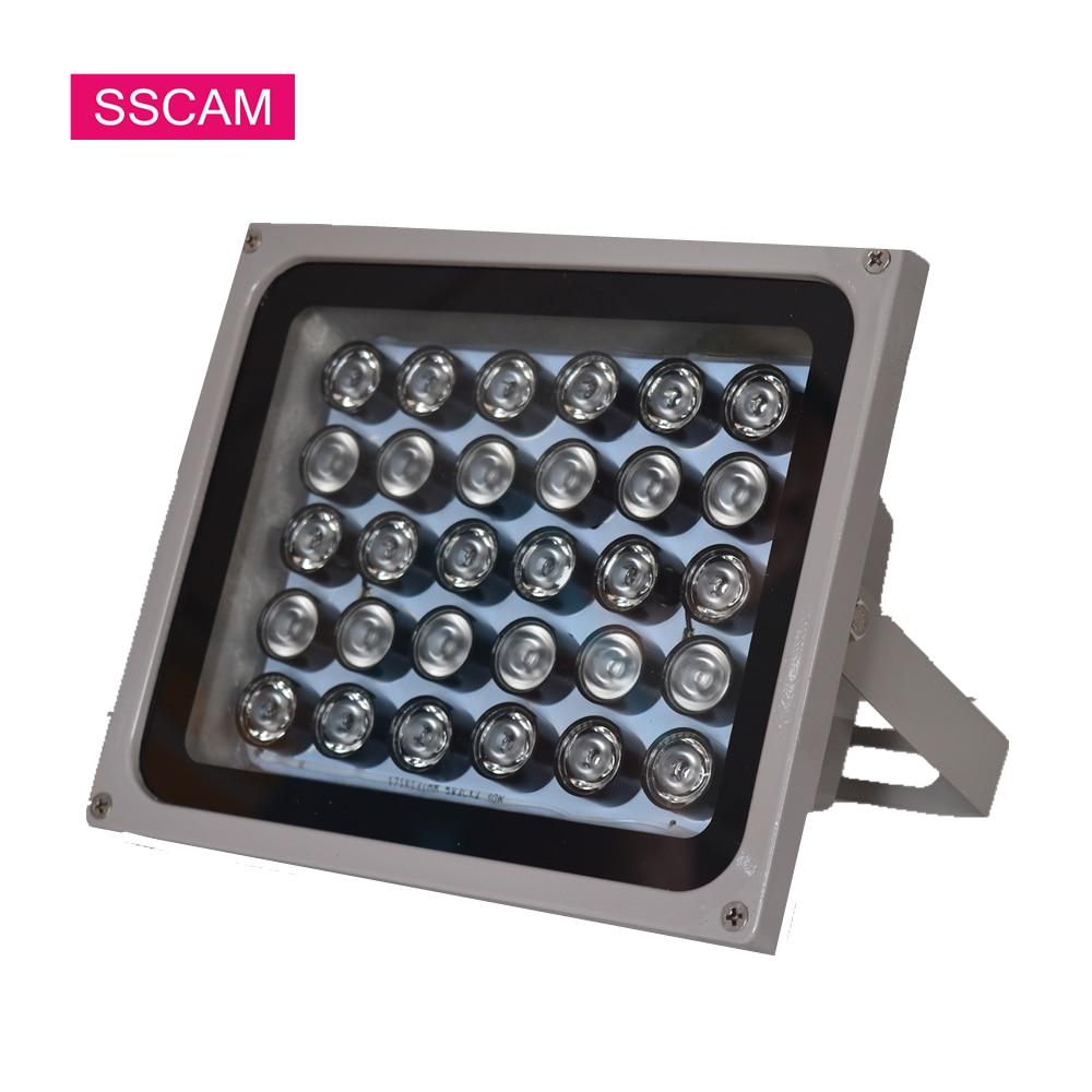 AC 220 V CCTV remplir IR Leds 30 pièces tableau infrarouge lumière LED illuminateur lampe étanche lumières pour caméra CCTV la nuit